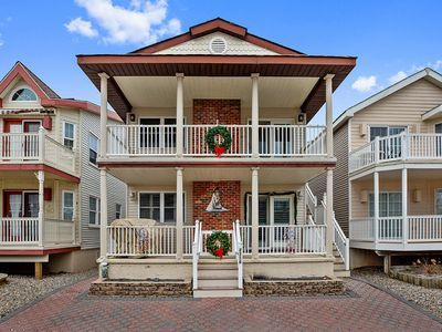 Photo for OCNJ - South end - 1st Floor - Clean - Family Friendly - 600 feet to the Beach