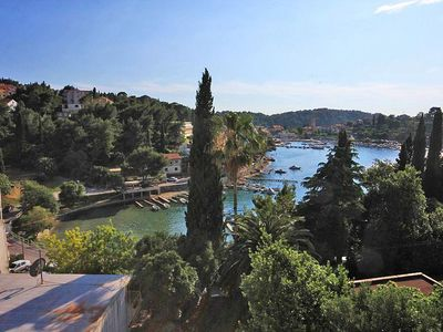 Photo for Two bedroom apartment with terrace and sea view Cavtat (Dubrovnik)