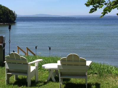 Photo for Family Friendly Lake Front Property on the Water's Edge.  Spectacular Setting.