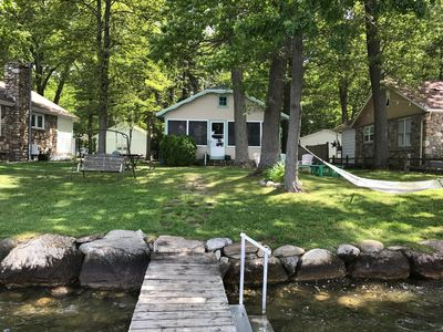 Photo for Charming, Rustic Lake Cottage, Great For Families Who Want To Get Away!