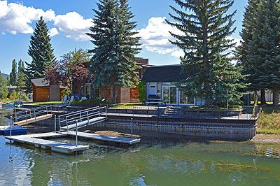 Photo for Single Level Waterfront Home sleeps 4!  Complimentary Wi-Fi