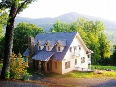 Photo for Stunning mountain views in pristine, serene, natural setting. Luxurious comfort.