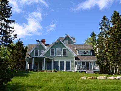Photo for Islesboro Island Maine Oceanfront Home on 12 Private Acres