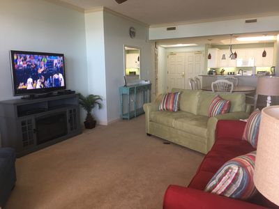 Plenty of relaxing seating in the living room