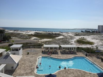 Photo for Best Panoramic View in Destin!  Direct Beach Access to the Jetty Magnolia #406