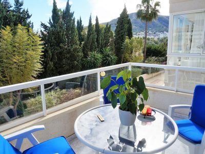 Photo for Nice apartment in a quiet beautiful area and at the golf course of Albir