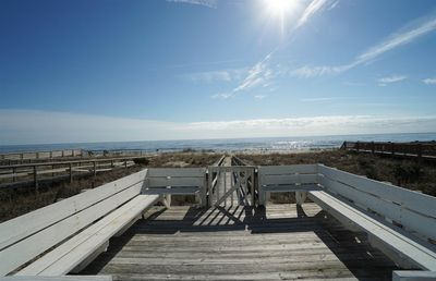 Photo for Beautifully updated oceanfront home 2 blocks from the pier