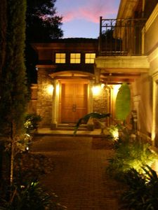 Villa Toscana at night