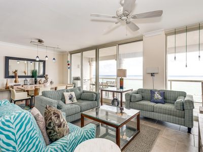 Photo for Location! Location! Location! Spectacular Beach Front Condo w/2 Heated Pools!