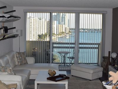 Photo for Huge 1 Br At Flamingo With Bay View, Garaged Parking, And Balcony