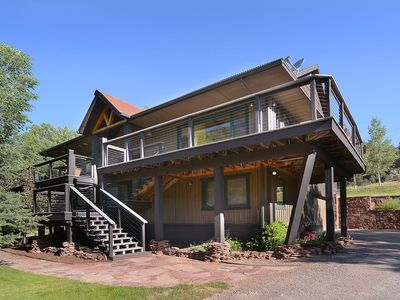 Photo for Beautiful Custom Home with Idyllic Views in the Frying Pan River Valley