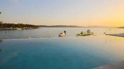 Photo for Beachfront Villa Deep Blue with Pool I