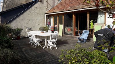 Photo for Loft located in the Center 14750 St Aubin-sur-Mer 8 people 300m from the sea.