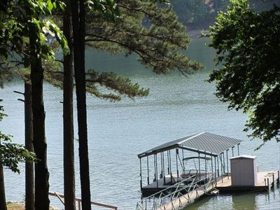 Photo for House on Lake Hartwell W/ Dock,4.5 Miles from Clemson Stadium!
