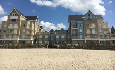Photo for Berck Plage: Duplex, sea view, 8 people