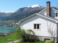 Great view of Balestrand on the Fjord