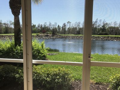 Photo for Naples Heritage Veranda with  water and golf course views