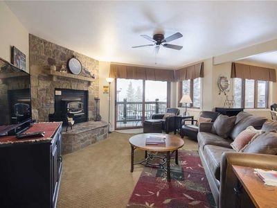 Photo for RA105 by Mountain Resorts ~ outdoor pool, hot tub, & Fitness Facility Premier residence with Garage!