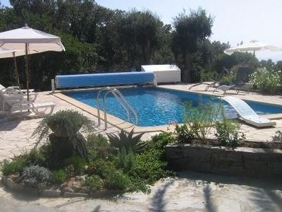Photo for Studio in provencal house with pool very quiet secure house