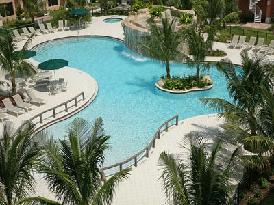 Photo for My Florida Hide-Away -Close to the beach and overlooks resort pool!