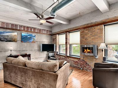 Photo for Colby Loft; downtown Asheville luxury!  Walkable to everything!