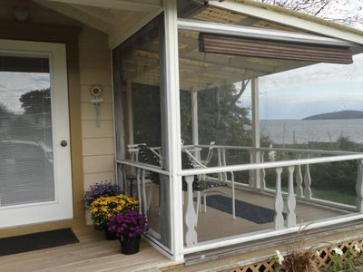 Photo for Big Water Views, Fireplace, French Doors To Screen Porch,
