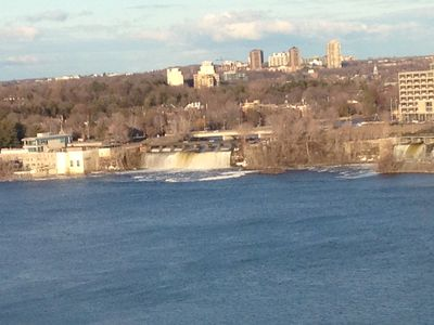Photo for Marvellous Waterfront Two Bedroom Condo facing Parliament Hill and  Ottawa River