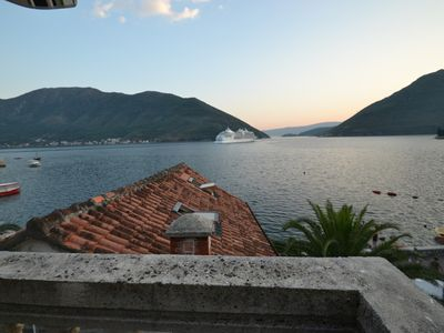 Photo for RENOVATED OLD STONE HOUSE BY THE SEA IN PERAST