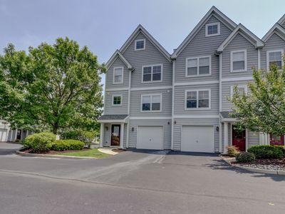 Photo for Steps to Rehoboth Ave and Community Pool Large 4BR Townhome Sleeps 10