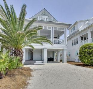 """Photo for """"Barefoot Too"""" Inlet Beach Rental Steps to Beach + Gulf Views + Pool + Bikes"""