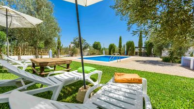 Photo for Fantastic villa with a beautiful garden full of olive trees