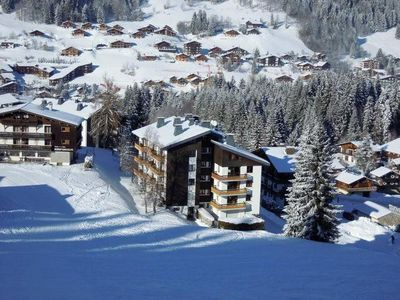 Photo for 3 * apartment located in Les Gets, at the Turche, at the foot of the slopes, Wifi