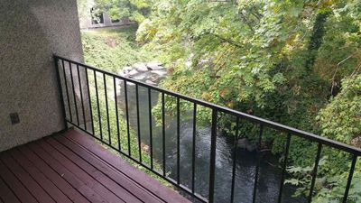 Photo for Creekside View - Large 2 Bedroom 2 Bath Condo Over 1050 SF!