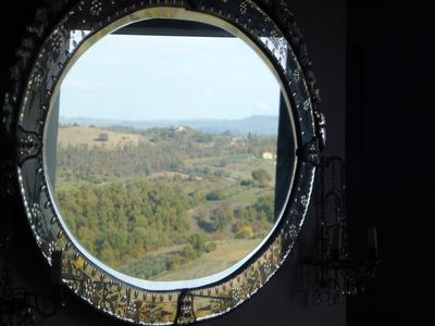 Photo for Lovely Medieval Townhouse between Rome and Florence with exceptional views