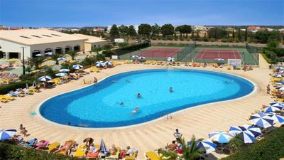 Photo for Outdoor Pools and Indoor Heated Jacuzzi and Tennis Court, Close to Golf