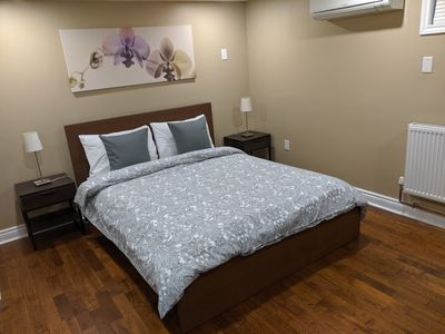 Photo for Renovated private apartment. FREE Netflix+Parking