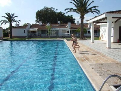 Photo for Pretty sunny villa at RiumarSpainnear the seabig swimming pool, 8 persons