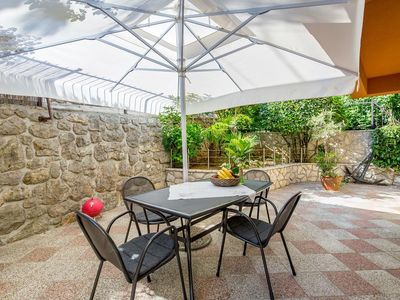Photo for Two bedroom apartment with terrace Kraj, Opatija (A-7724-c)