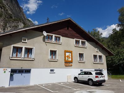 Photo for The orange lilies - ideal location for cyclists 4km from village of oisans
