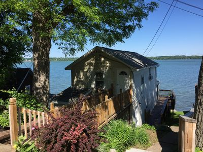 Photo for A Cayuga Lake getaway, perfect for a romantic couple, or great for the family