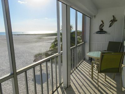 Photo for Come Stay At Beautiful Beachfront Castle Beach Condo 205 On Quiet End Of Island!