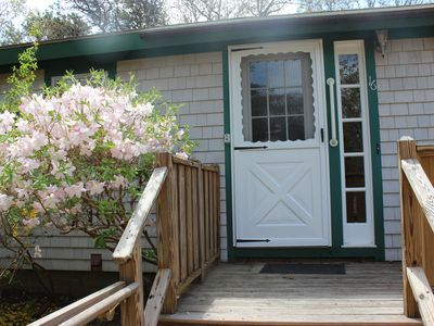 Photo for Sleeps 4 in Oak Bluffs MA on quiet lane