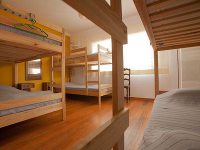 Photo for 6 Bed dorm: Ericeira Chill Hill Hostel & Private Rooms (RNAL Nº 4514AL)