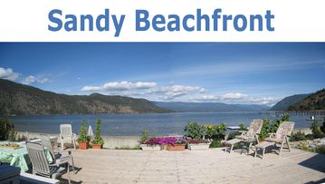 Sandy Beachfront Cottage on Little Shuswap Lake