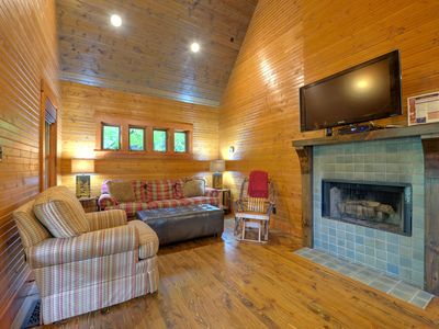 Photo for Quirky Black Mountain cabin in a beautiful setting. Your home away from home!