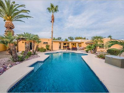 Photo for KEIRLAND SCOTTSDALE  LUX HOME- SPA HEATED POOL! Accommodates 16+!