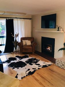 Photo for 2 BR 2BA: 5 minute walk to Toll Rd! You can ski home!!