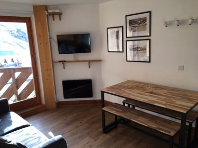 Photo for Val Thorens Sunny Apartment 2 rooms-5 pers.-Foot tracks-unobstructed view