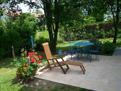 Photo for BASSUSSARY- Beautiful Studio of 36 m2, very calm for 2/3 person. terrace and garden