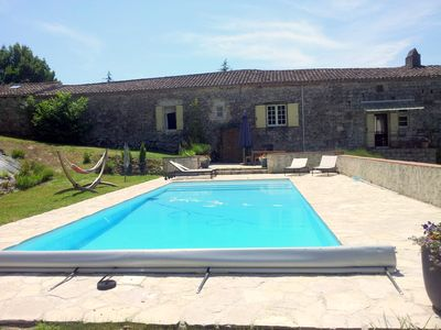 Photo for HOUSE WITH PRIVATE POOL - sleeps 8 - ROQUECOR